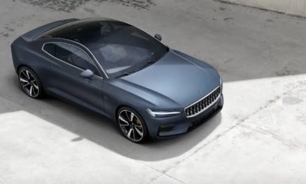 Polestar 1- Prototype under the series of tests